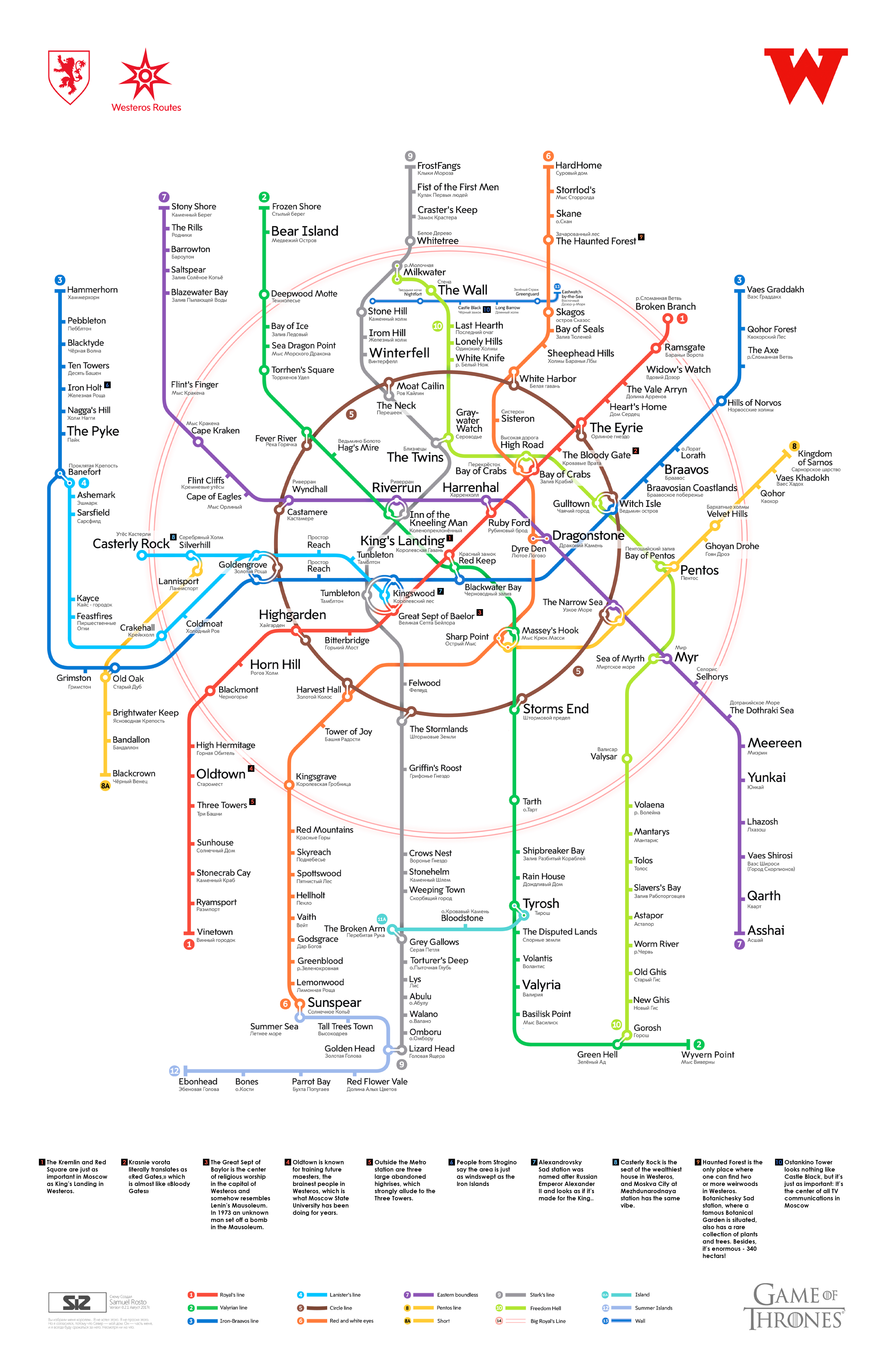 Game Of Thrones Subway Map.How Moscow S Metro Became Part Of Game Of Thrones Russia Beyond